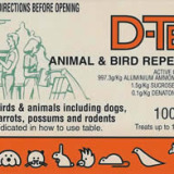 D-TER ANIMAL & BIRD REPELLANT 100gm