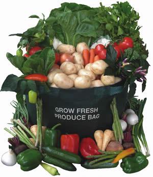 Produce Planter And Garden Bag 45l