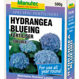 MANUTEC HYDRANGEA BLUEING FERTILISER 500g