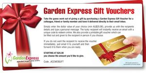 Garden Express Gift Voucher