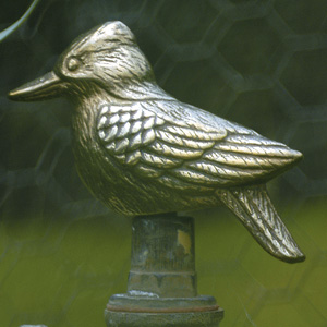 BRASS FINISH POLY RESIN TAP TOP KOOKABURRA