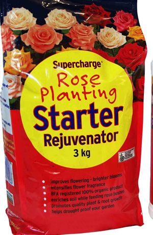 Supercharge Rose Planting Starter X 3kg