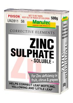 Manutec Zinc Sulphate