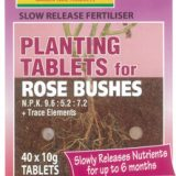 Manutec Slow Release Rose Planting Tablet