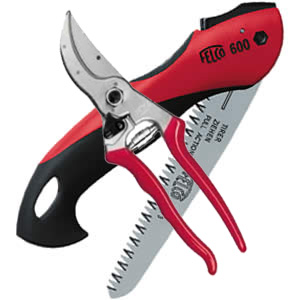 Felco 4 Pruner And 600 Folding Saw Combo Pack