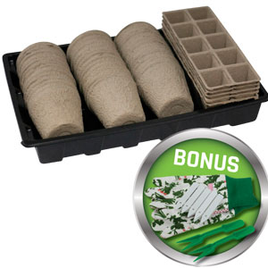 Gardeners Advantage Peat Pot Starter Kit