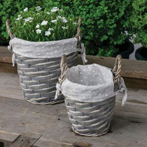 Wicker Baskets – Set Of 2