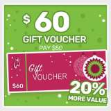 120 Dollar Garden Express Gift Voucher For 100 Dollars