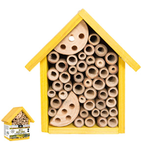 Bee And Insect House With Pollinator Friendly Seeds