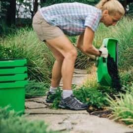 Mulch composting