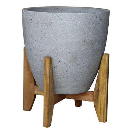 Egg Pot Cement - Garden Express Australia